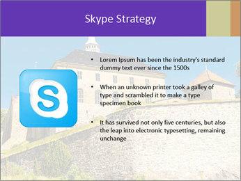 Akershus Fortress PowerPoint Template - Slide 8