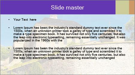 Akershus Fortress PowerPoint Template - Slide 2