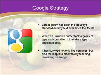 Juicy flavorful pears PowerPoint Template - Slide 10