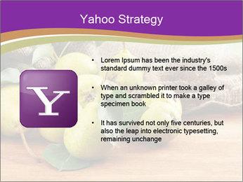 Juicy flavorful pears PowerPoint Template - Slide 11