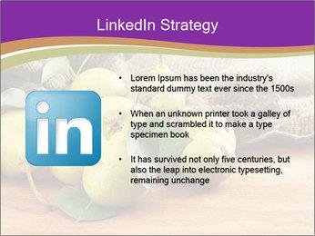 Juicy flavorful pears PowerPoint Template - Slide 12