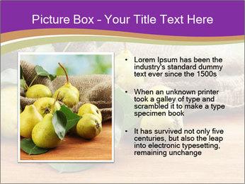 Juicy flavorful pears PowerPoint Template - Slide 13