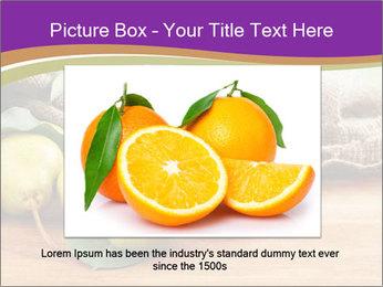 Juicy flavorful pears PowerPoint Template - Slide 16