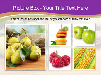 Juicy flavorful pears PowerPoint Template - Slide 19