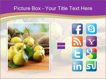 Juicy flavorful pears PowerPoint Template - Slide 21