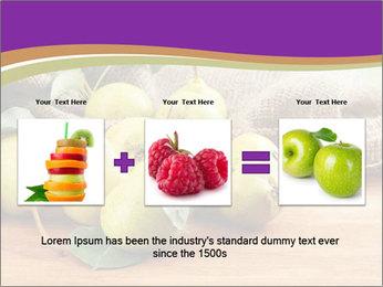 Juicy flavorful pears PowerPoint Template - Slide 22