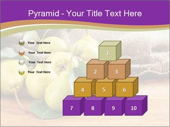 Juicy flavorful pears PowerPoint Template - Slide 31
