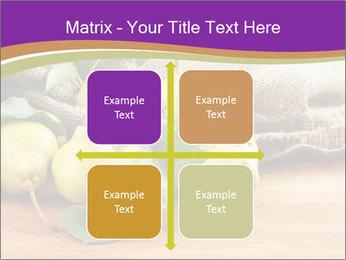 Juicy flavorful pears PowerPoint Template - Slide 37