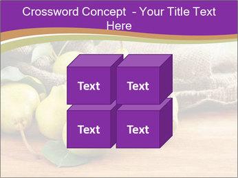Juicy flavorful pears PowerPoint Template - Slide 39