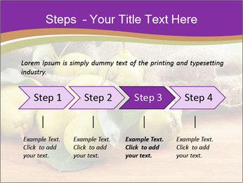 Juicy flavorful pears PowerPoint Template - Slide 4