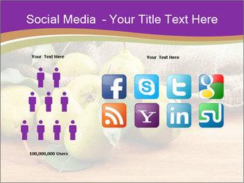 Juicy flavorful pears PowerPoint Template - Slide 5