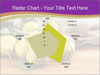 Juicy flavorful pears PowerPoint Template - Slide 51