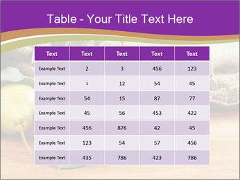 Juicy flavorful pears PowerPoint Template - Slide 55