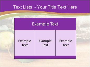 Juicy flavorful pears PowerPoint Template - Slide 59