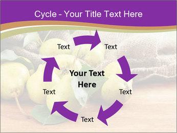 Juicy flavorful pears PowerPoint Template - Slide 62