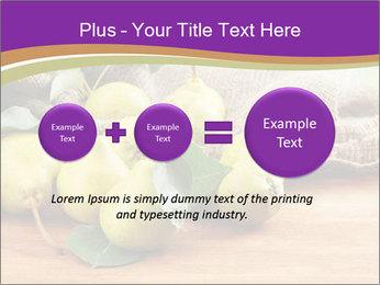 Juicy flavorful pears PowerPoint Template - Slide 75
