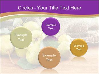 Juicy flavorful pears PowerPoint Template - Slide 77