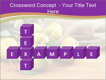 Juicy flavorful pears PowerPoint Template - Slide 82