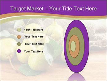 Juicy flavorful pears PowerPoint Template - Slide 84