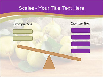 Juicy flavorful pears PowerPoint Template - Slide 89