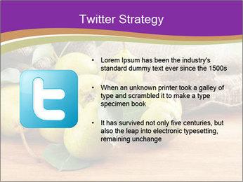 Juicy flavorful pears PowerPoint Template - Slide 9