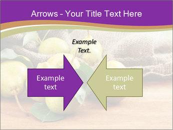 Juicy flavorful pears PowerPoint Template - Slide 90