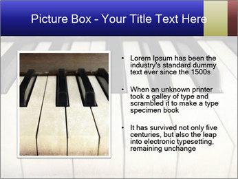 Piano keyboard PowerPoint Templates - Slide 13