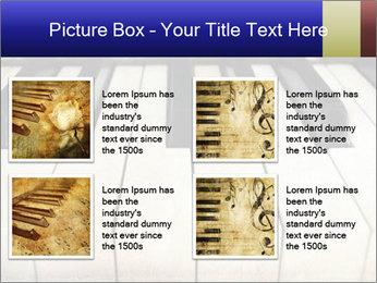 Piano keyboard PowerPoint Templates - Slide 14