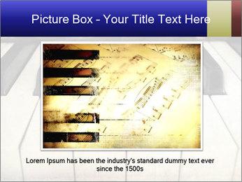 Piano keyboard PowerPoint Templates - Slide 16