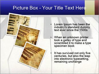 Piano keyboard PowerPoint Templates - Slide 17