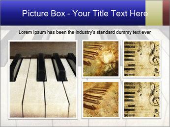 Piano keyboard PowerPoint Templates - Slide 19