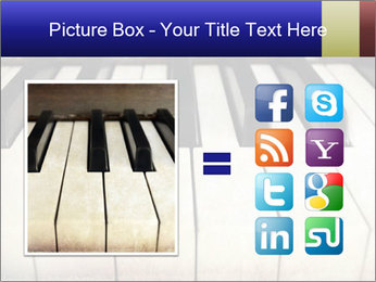 Piano keyboard PowerPoint Templates - Slide 21