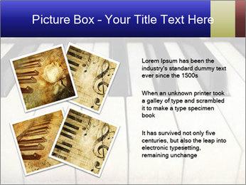 Piano keyboard PowerPoint Templates - Slide 23