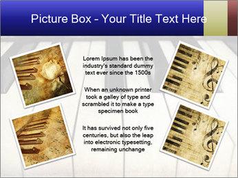 Piano keyboard PowerPoint Templates - Slide 24