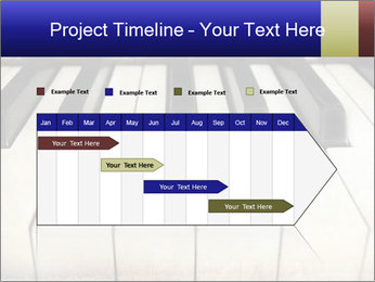Piano keyboard PowerPoint Templates - Slide 25