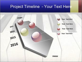 Piano keyboard PowerPoint Templates - Slide 26