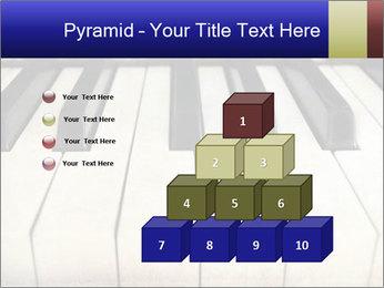 Piano keyboard PowerPoint Templates - Slide 31
