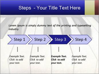 Piano keyboard PowerPoint Templates - Slide 4