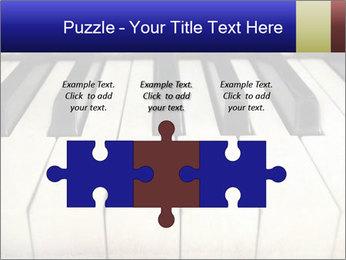 Piano keyboard PowerPoint Templates - Slide 42