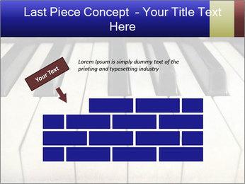 Piano keyboard PowerPoint Templates - Slide 46