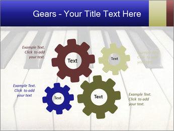 Piano keyboard PowerPoint Templates - Slide 47