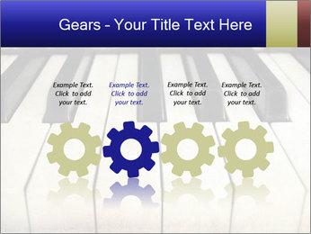 Piano keyboard PowerPoint Templates - Slide 48