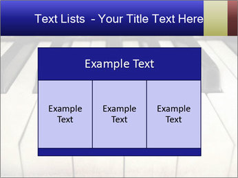Piano keyboard PowerPoint Templates - Slide 59