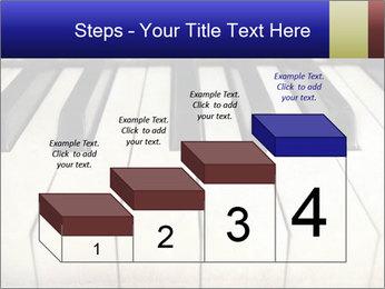 Piano keyboard PowerPoint Templates - Slide 64