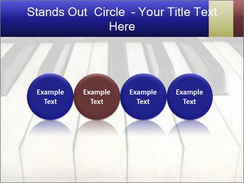 Piano keyboard PowerPoint Templates - Slide 76