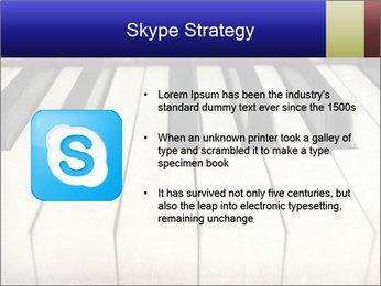 Piano keyboard PowerPoint Templates - Slide 8