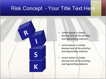 Piano keyboard PowerPoint Templates - Slide 81