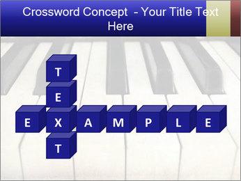 Piano keyboard PowerPoint Templates - Slide 82