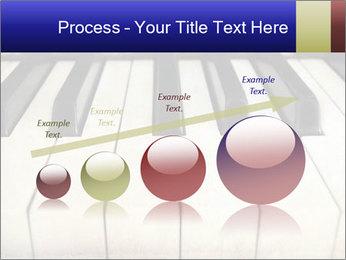 Piano keyboard PowerPoint Templates - Slide 87