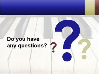Piano keyboard PowerPoint Templates - Slide 96
